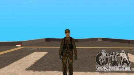 New Army Skin for GTA San Andreas