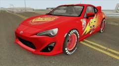 Toyota GT86 Mcqueen 2012 for GTA San Andreas