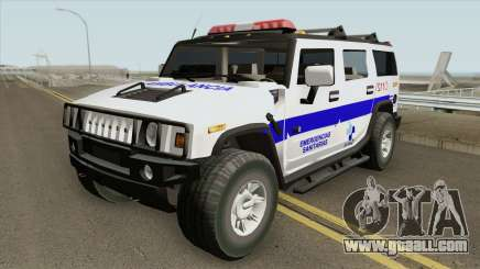 Hummer H2 Ambulance for GTA San Andreas