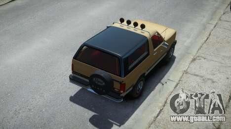 Vapid Riata Classic for GTA 4