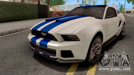 Ford Mustang NFS Movie for GTA San Andreas
