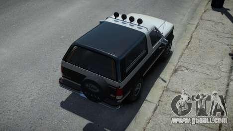 Vapid Riata Sport Retro for GTA 4