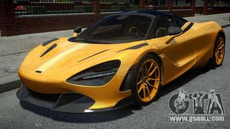 McLaren 720S Vorstiener Silverstone 2018 for GTA 4