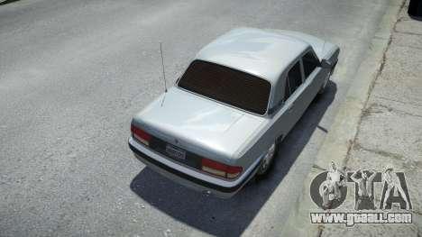 GAZ 31105 Volga 2004 for GTA 4