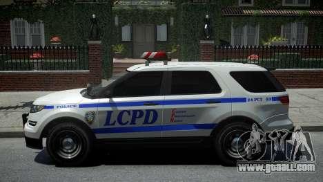 Vapid Interceptor Police for GTA 4