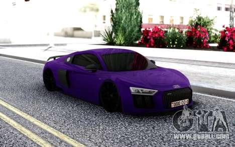 Audi R8 V10 MK1 for GTA San Andreas