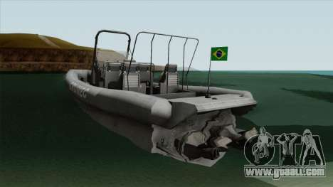 Bote EMB RHIB GRUMEC for GTA San Andreas
