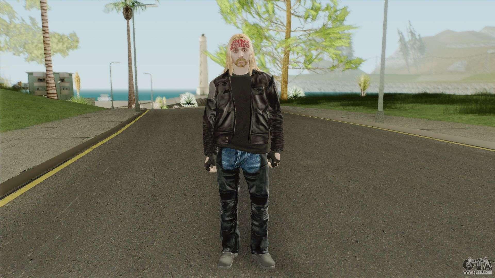 Skin Random 206 (Outfit Biker) For GTA San Andreas