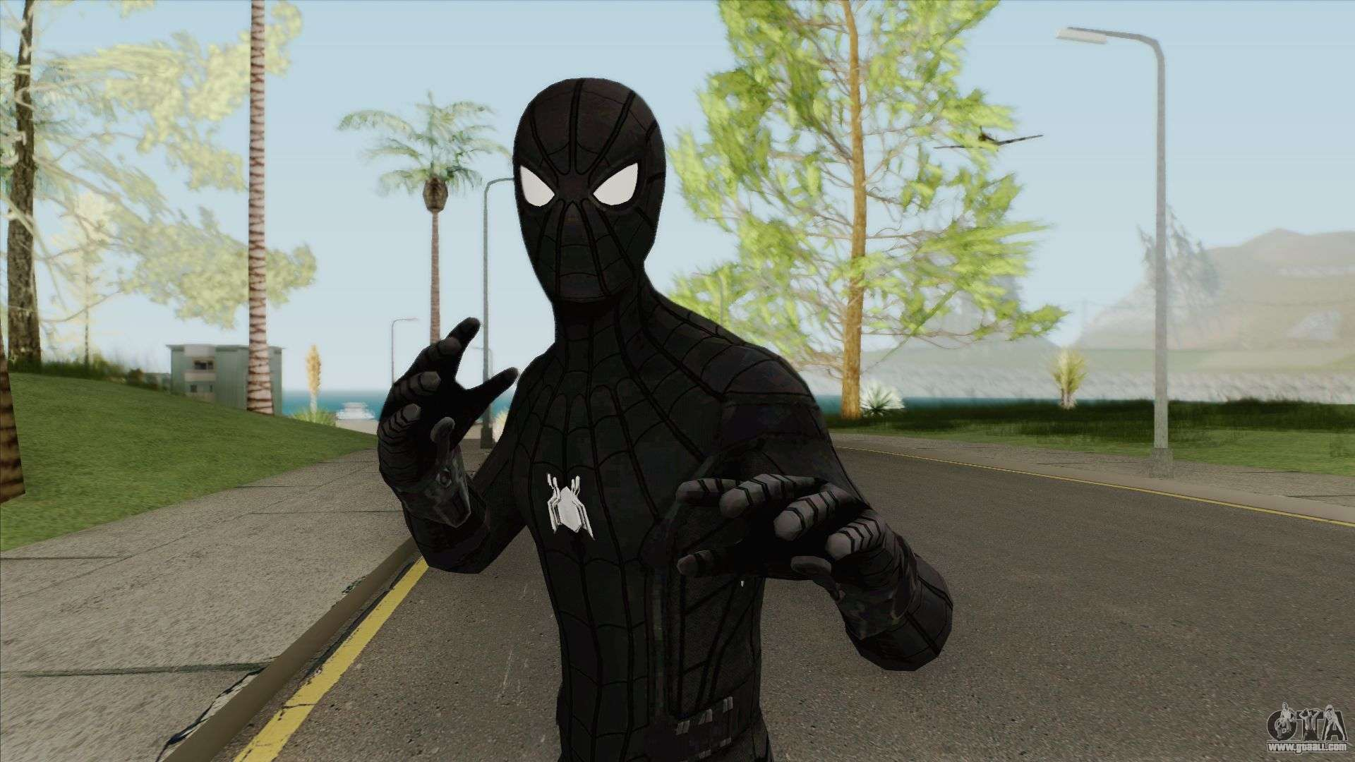 Download spider man mod for gta san andreas