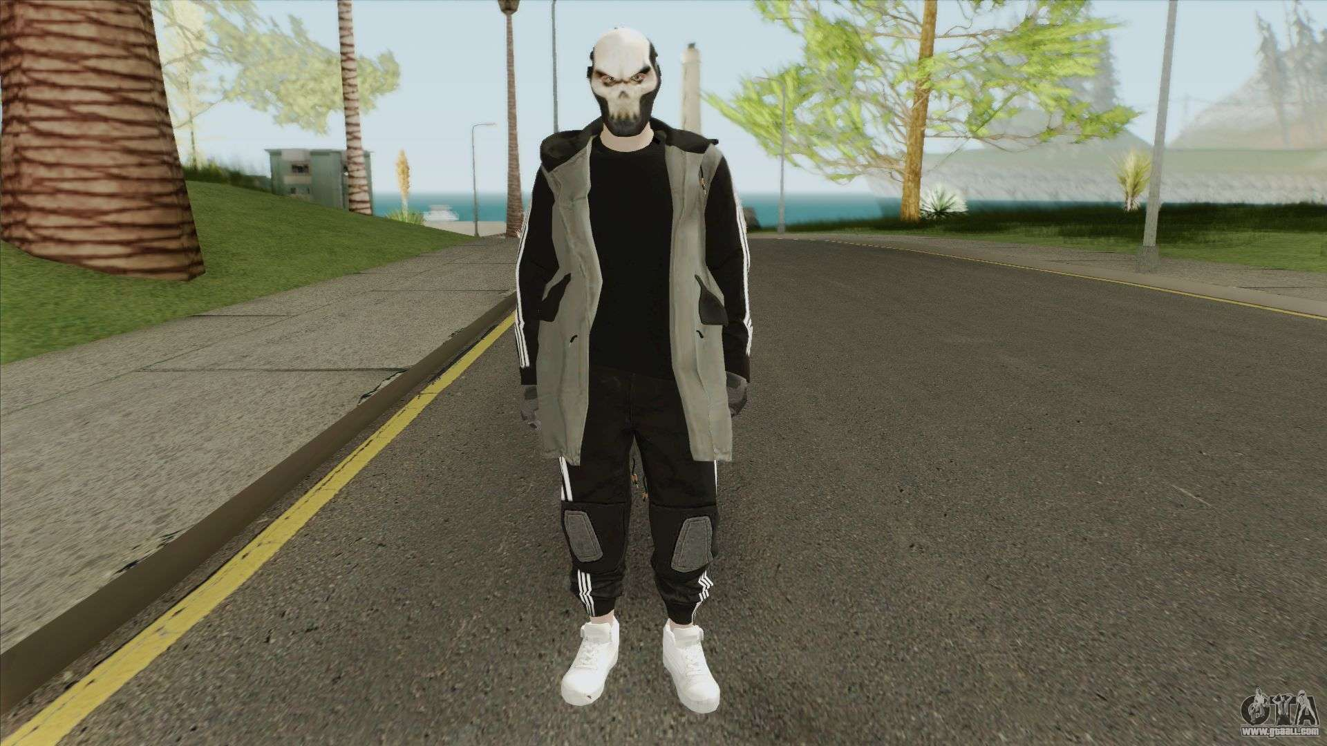 Skin Random Free Fire Style For Gta San Andreas