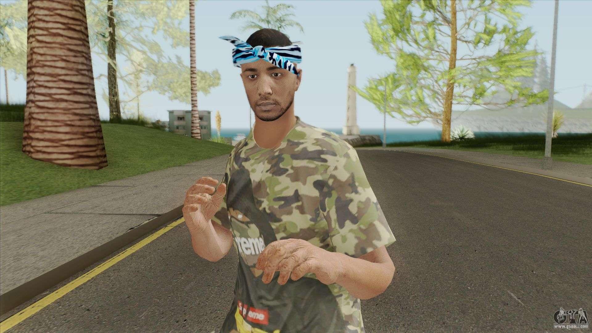 Skin Random 199 (Outfit Lowrider) For GTA San Andreas