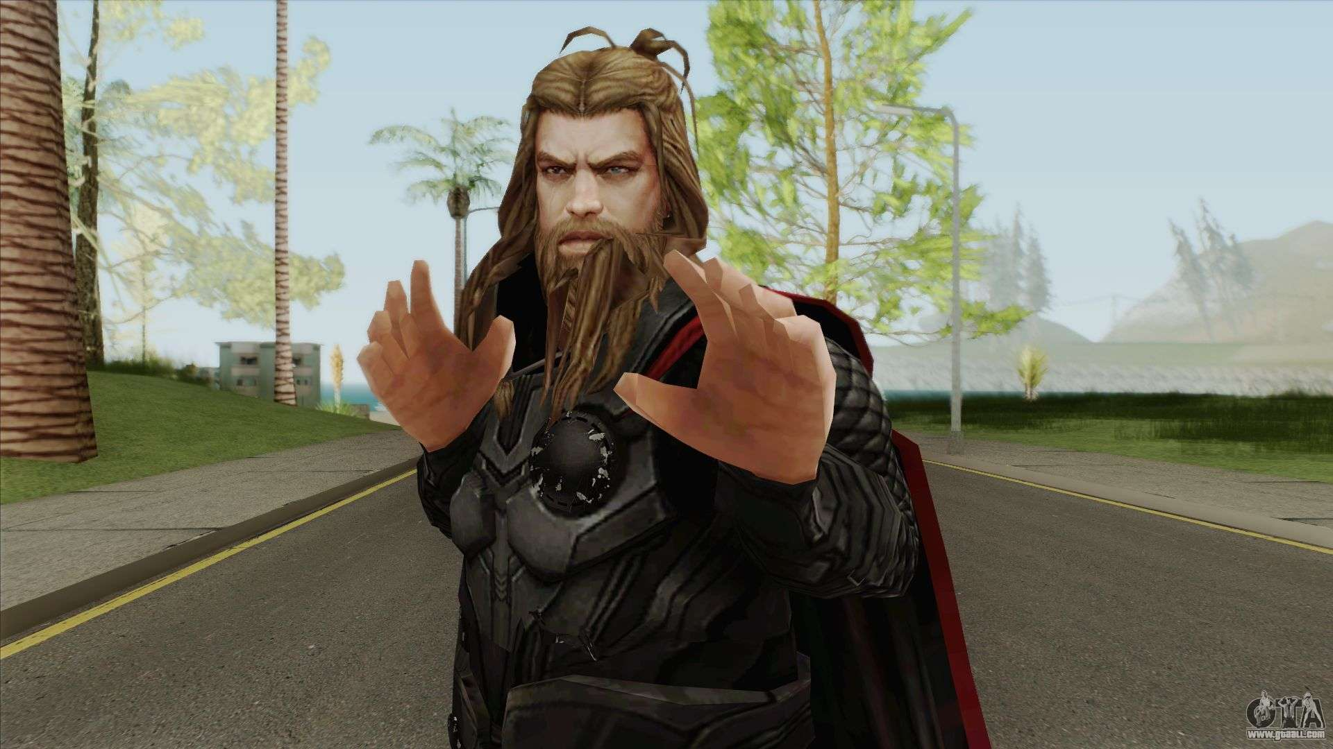 Thor Avengers End Game For Gta San Andreas