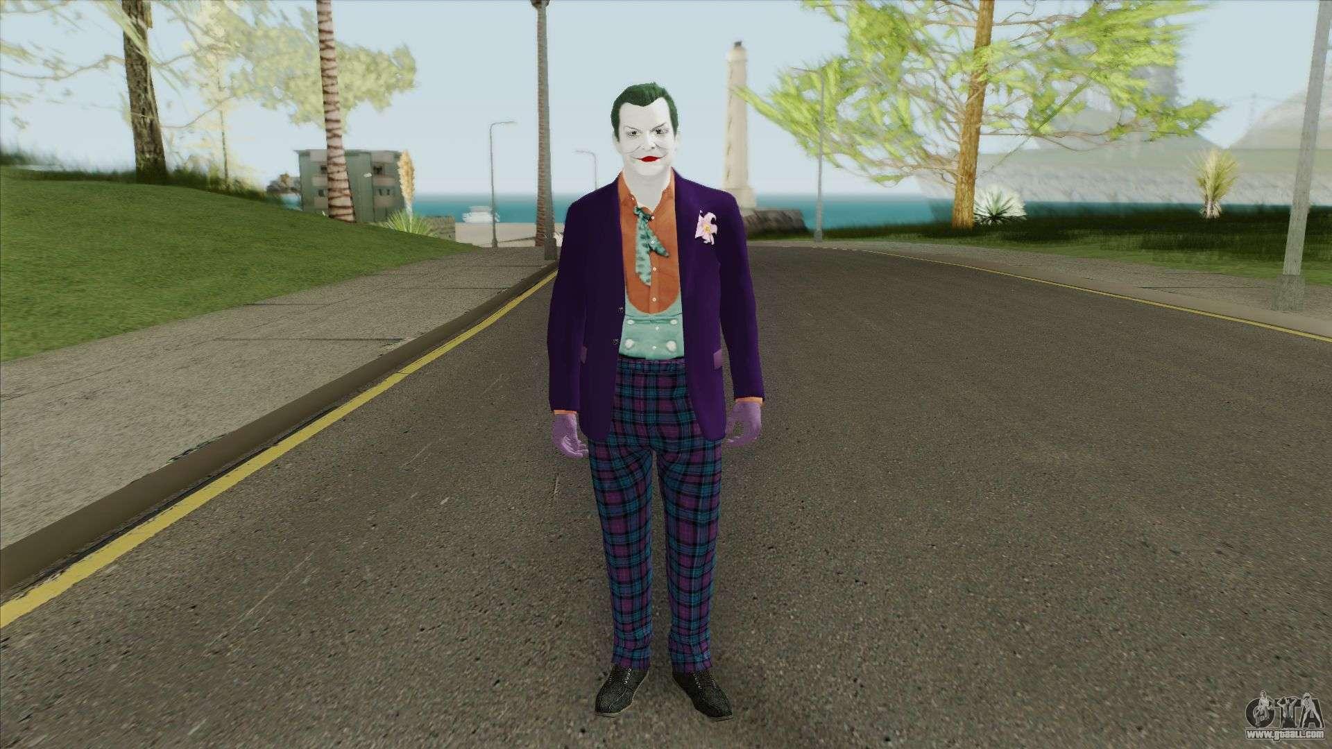 Suicide Squad - Joker v2 for GTA San Andreas