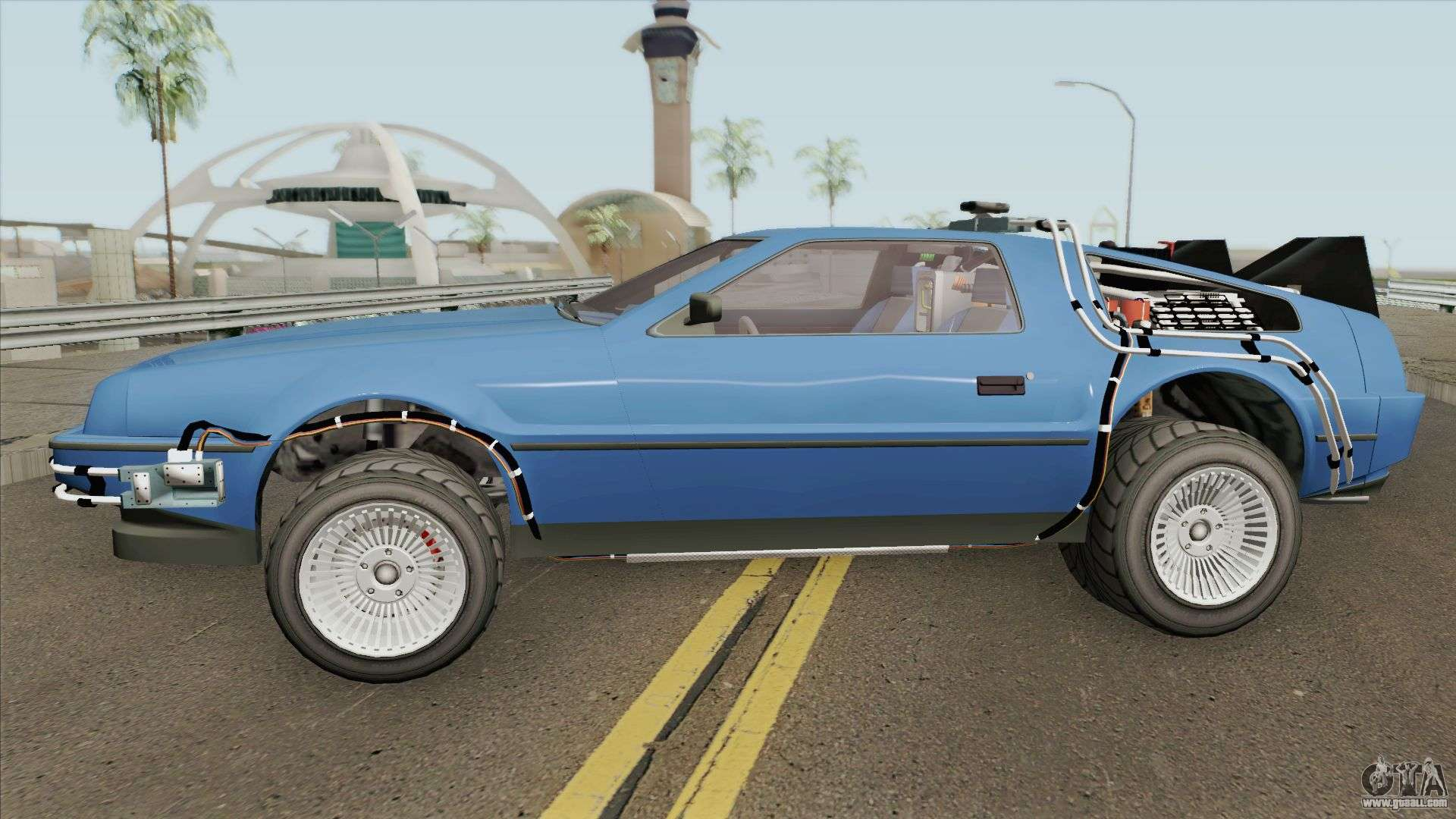 Deluxo Time Machine BTTF GTA V For GTA San Andreas