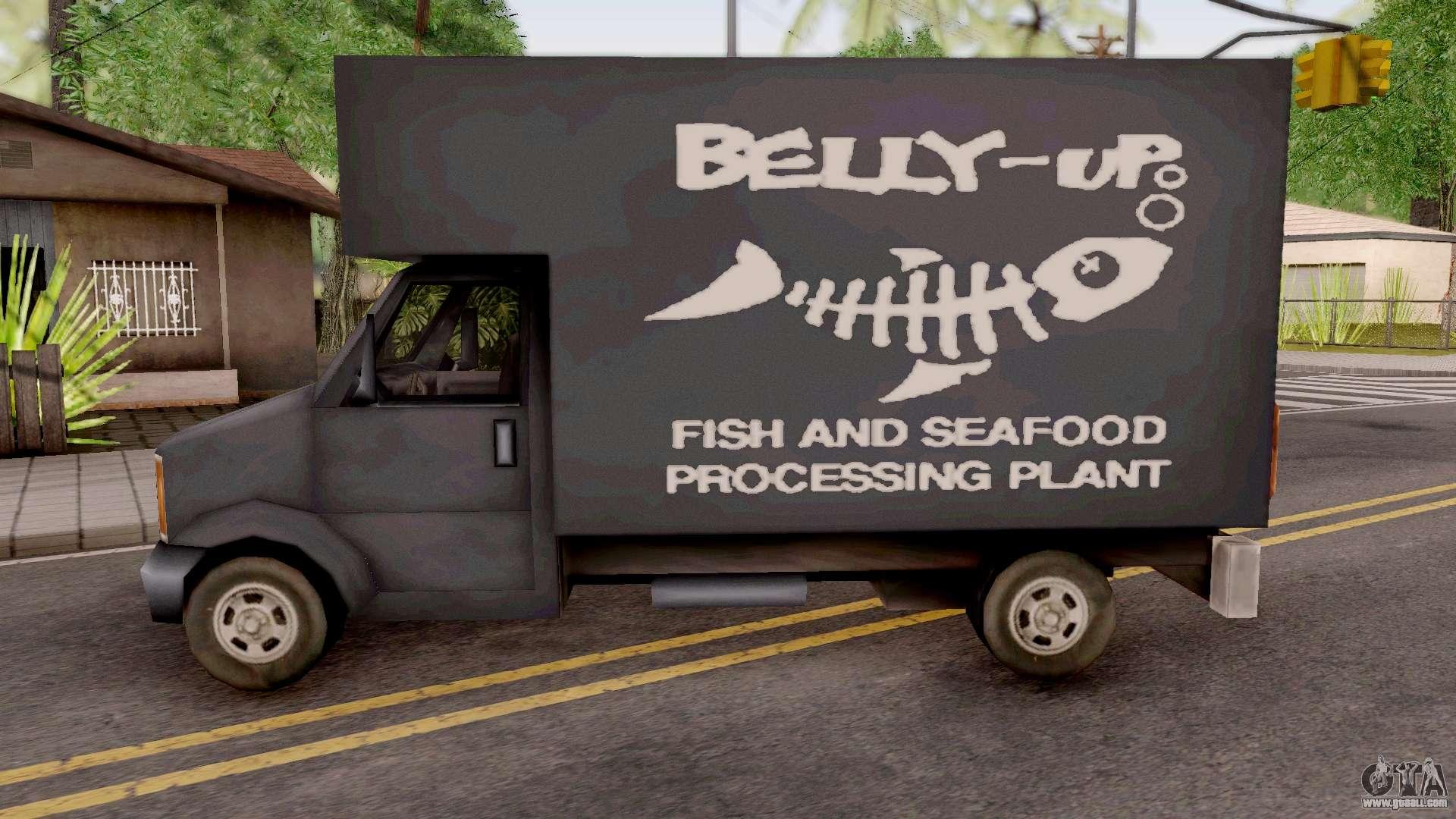 Triad Fish Van from GTA 3 for GTA San Andreas