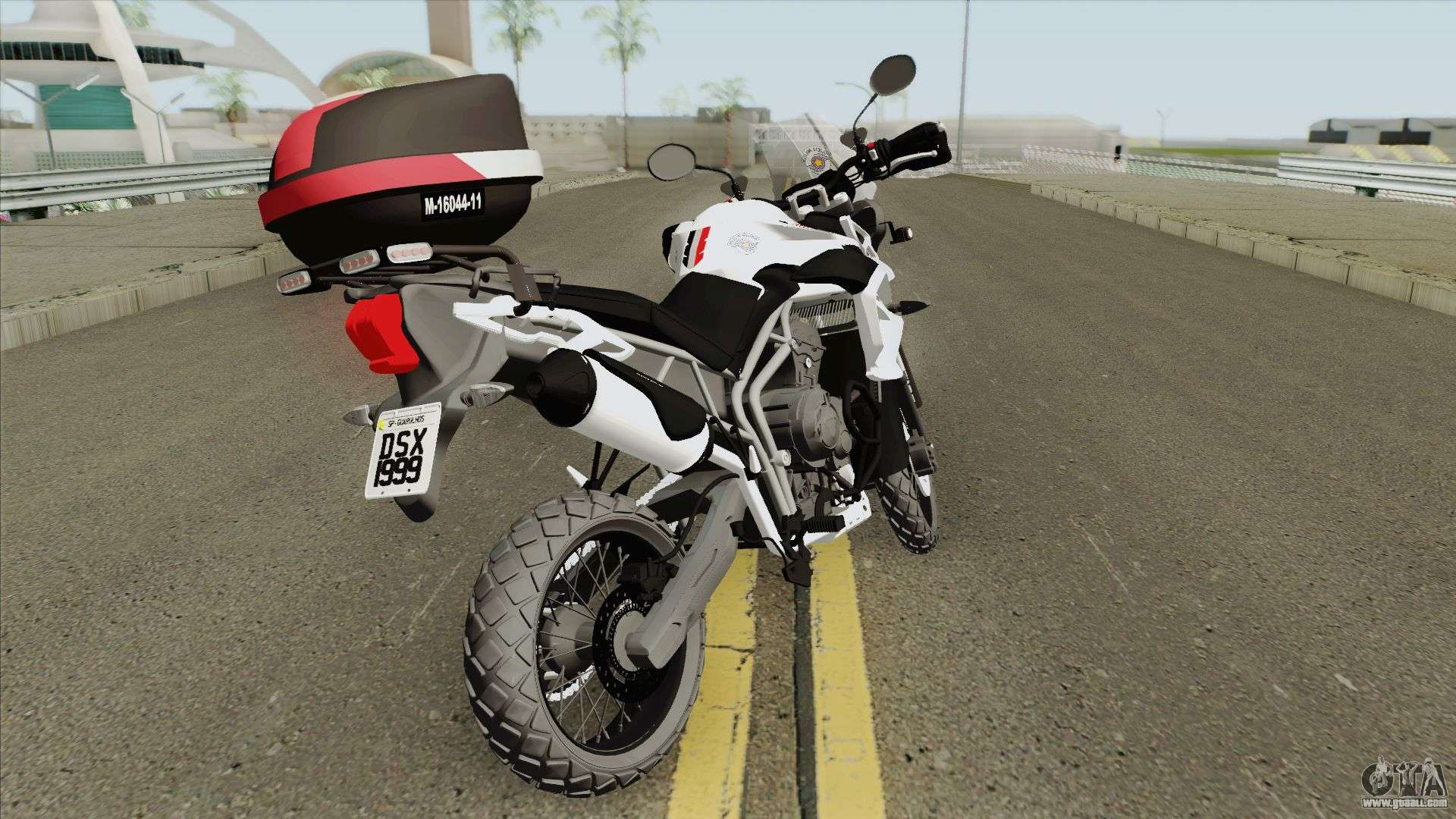 Triumph Tiger 800 (ROCAM PMESP) For GTA San Andreas