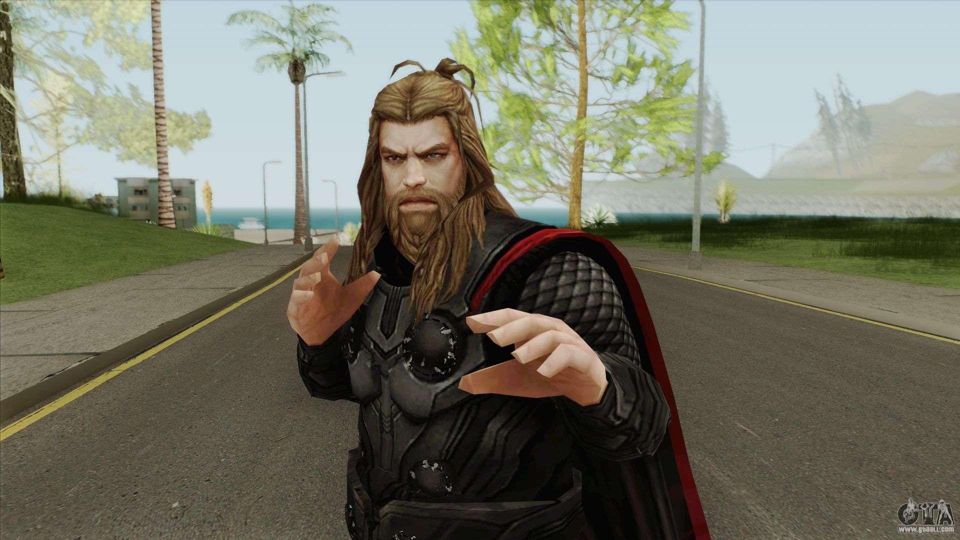 Thor Avengers Endgame Mff For Gta San Andreas
