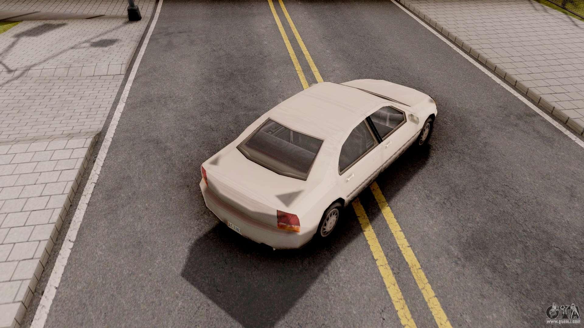 Kuruma From GTA LCS For GTA San Andreas