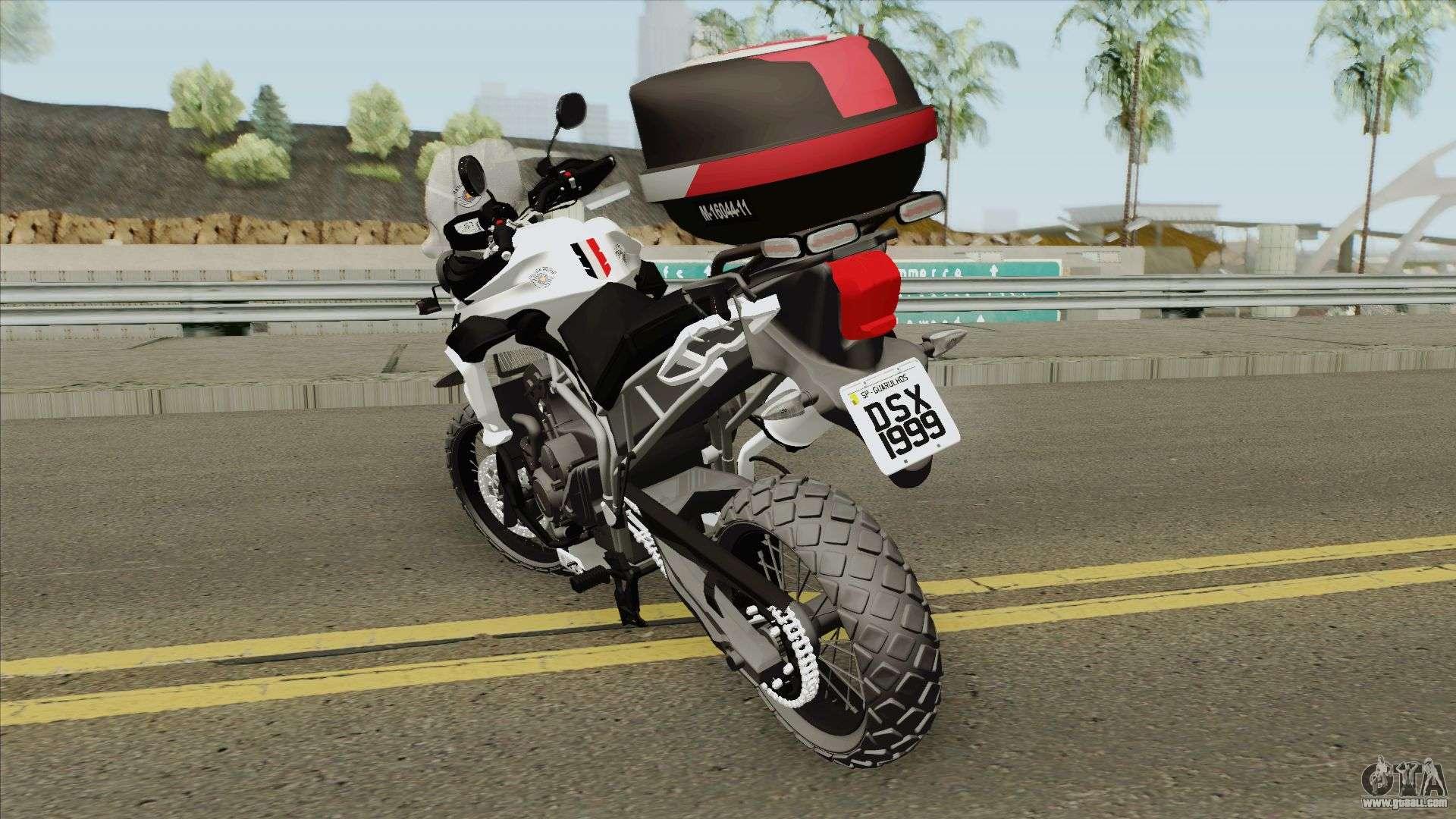 Triumph Tiger 800 (ROCAM PMESP) For GTA San Andreas