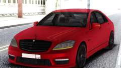 Mercedes-Benz S65 AMG Red for GTA San Andreas