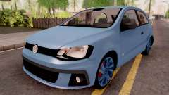 Volkswagen Gol Trend Blue for GTA San Andreas