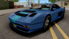 GTA V Grotti Cheetah Classic Coupe IVF for GTA San Andreas