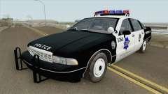 Chevrolet Caprice 1991 Police for GTA San Andreas