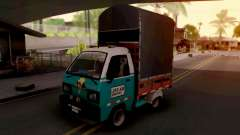 Suzuki Carry Con Estacas for GTA San Andreas