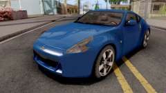 Nissan 370Z Blue for GTA San Andreas