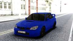 Subaru WRX STI 2004 Blue for GTA San Andreas