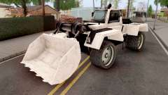 Bulldozer from GTA VCS for GTA San Andreas