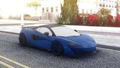 McLaren 600LT 2018 Blue for GTA San Andreas