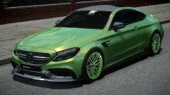 Mercedes-Benz C63 Brabus for GTA 4