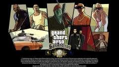 GTA SA Load screens - 15 years anniversary for GTA San Andreas