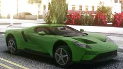 Ford GT 2017 Green for GTA San Andreas