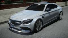 Mercedes-Benz C63 Brabus ENB Version for GTA 4