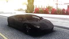Lamborghini Aventador Black LP700-4 for GTA San Andreas