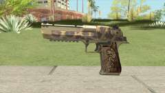 Desert Eagle 50ae (De Leopard) 2019 for GTA San Andreas