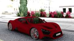 Zenvo ST1 for GTA San Andreas