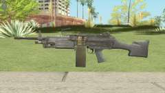 SOF-P FN M249E2 SAW (Soldier of Fortune) for GTA San Andreas