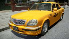 GAZ 31105 Volga Taxi 2004 LC for GTA 4