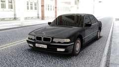 BMW 750i E38 Black Sedan for GTA San Andreas