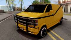 Chevrolet Express G-20 Van 1999 for GTA San Andreas