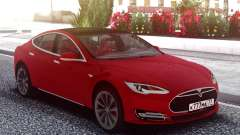 Tesla Model S Red for GTA San Andreas