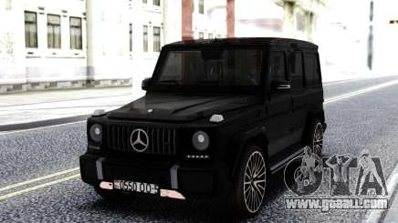 Mercedes-Benz Black G63 AMG for GTA San Andreas
