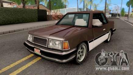 Manana from GTA VCS for GTA San Andreas