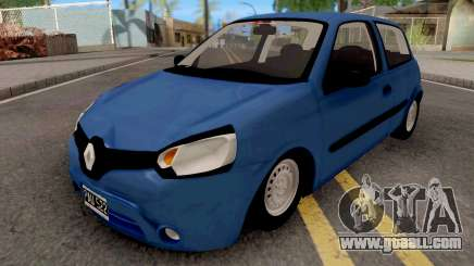 Renault Clio Mio Blue for GTA San Andreas