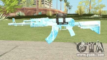 AK47 Glacier (Original Scope) for GTA San Andreas