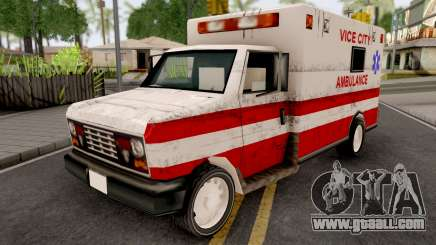 Ambulance from GTA VCS for GTA San Andreas