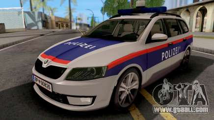 Skoda Octavia Polizei for GTA San Andreas